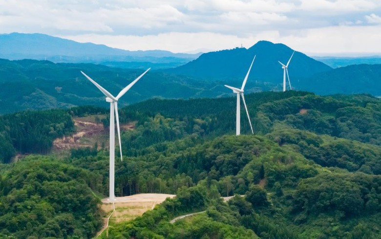 JRE commissions 9.6-MW wind park in Ishikawa