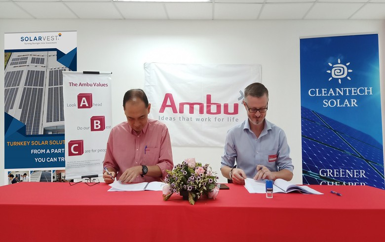 Cleantech Solar inks 923-kWp solar PPA with medical device maker Ambu