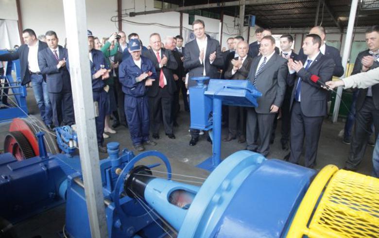 Turkey's Teklas to open 500 jobs at Serbian factory - president Vucic