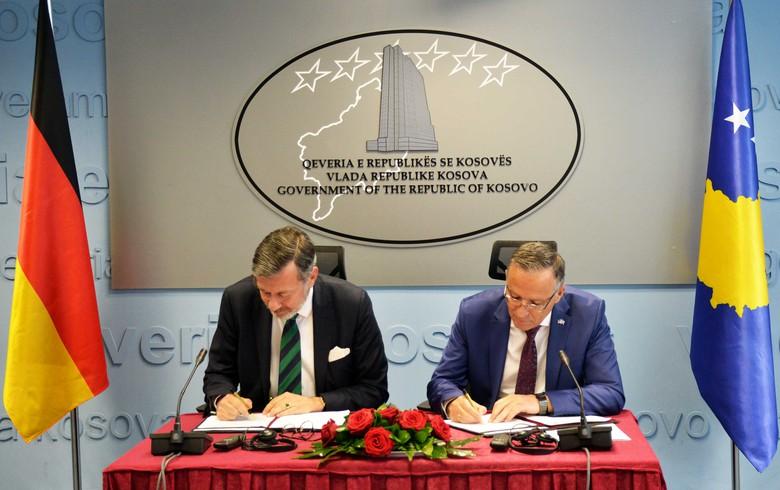 Germany grants 2 mln euro to improve Kosovo's public finances