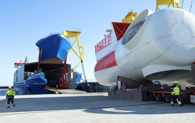 Siemens Gamesa fully adopts cost saving Ro/Ro logistics concept