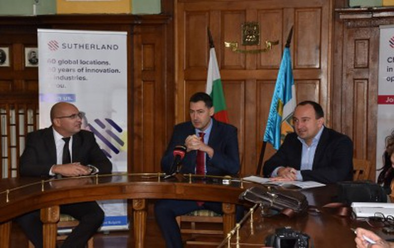Sutherland Global Services to open office in Bulgaria's Plovdiv