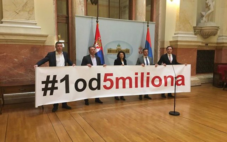 Serbian opposition boycotts parliament as anti-govt protests spread