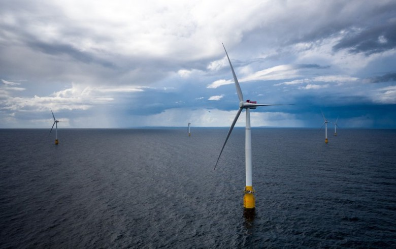 World's first floating offshore wind farm opens off Scotland