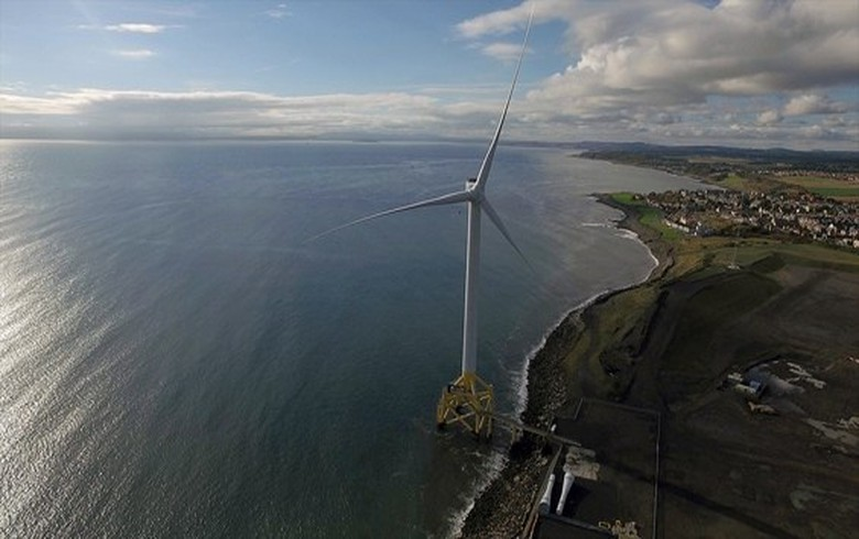Three Scottish firms test sensors on ORE Catapult's Levenmouth turbine