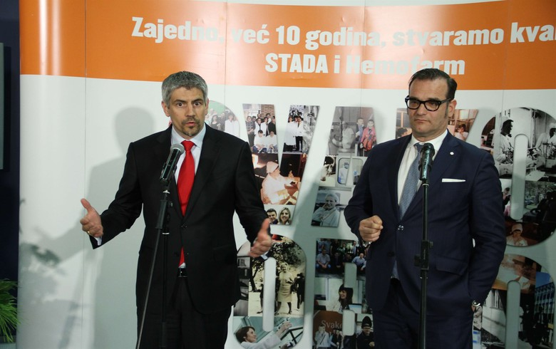 Germany's Stada to keep investing in Hemofarm's Serbian factory
