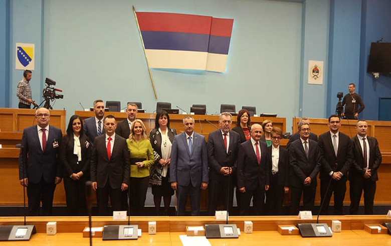 Serb Republic parl endorses Radovan Viskovic-led cabinet
