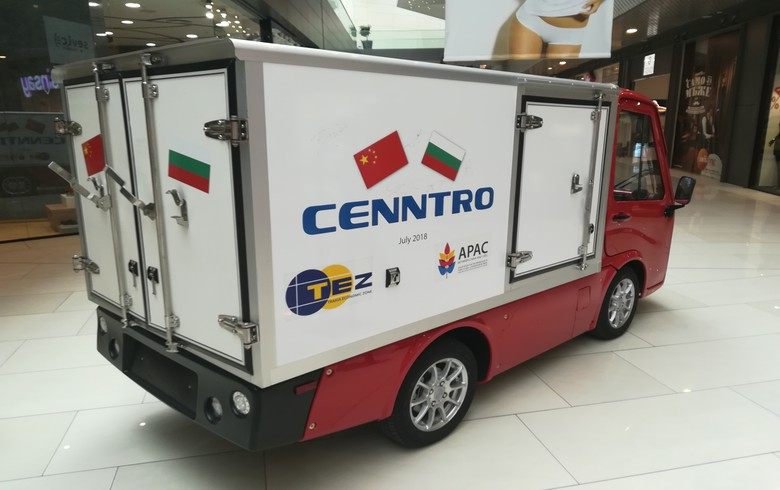 "INTERVIEW - China's Cenntro to produce first ""Made in Bulgaria"" e-vehicle"