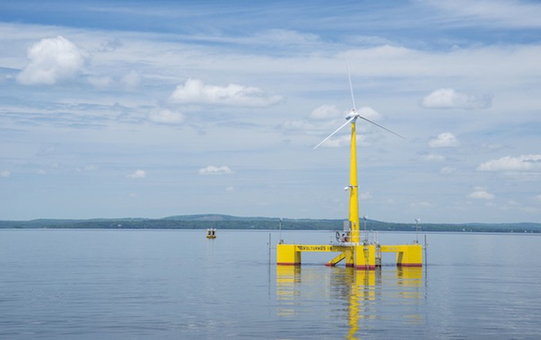 UMaine's floating wind tech passes design review