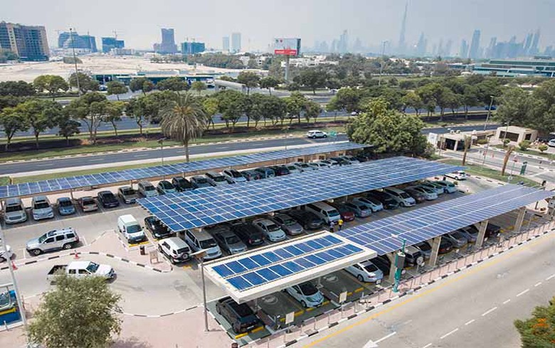 DEWA commissions 2-MWp solar carport at HQ, Dubai govt building