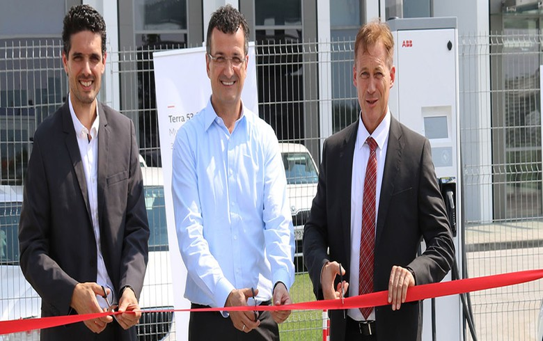 ABB Bulgaria opens fast-charging station for electric vehicles in Plovdiv