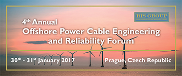 4th Annual Offshore power cable engineering and reliability