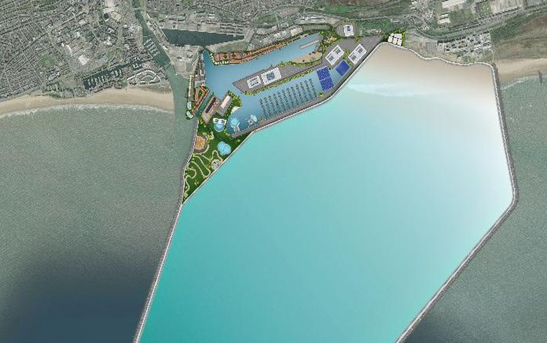 DST, partners propose 320-MW tidal lagoon project in Wales