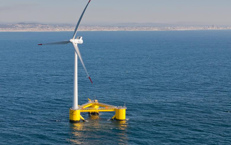 Bourbon to install floating wind turbines for WindFloat project