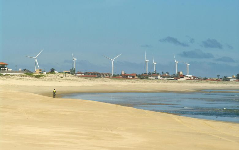 Brazil's wind generation increases 32% y/y in Oct