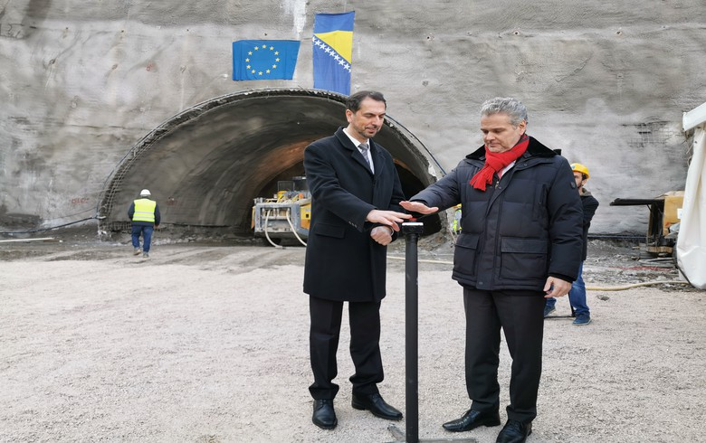 Bosnia's Euro-Asfalt launches work on 59.4 mln euro motorway construction project
