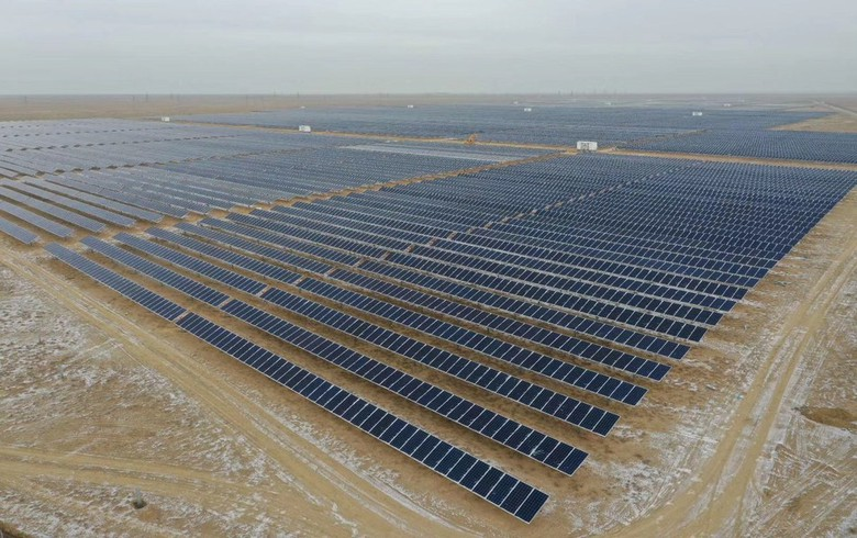 Risen Energy ties to grid 50-MW solar park in Kazakhstan