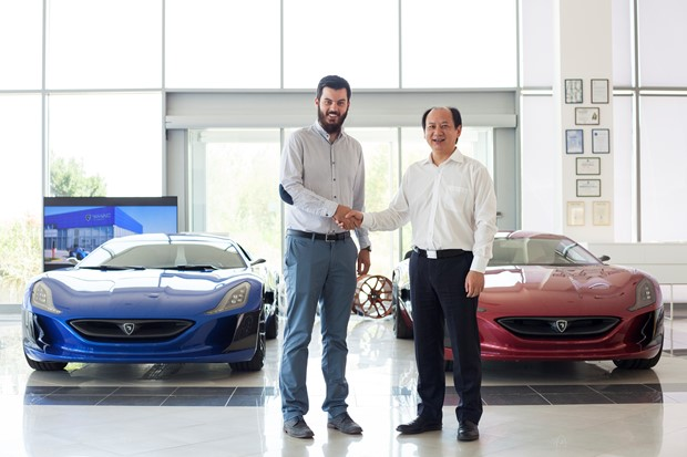 China's Camel Group to invest 30 mln euro in Croatia's Rimac