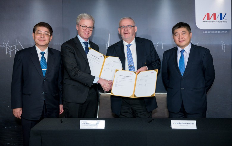 MHI Vestas signs deal for local tower manufacturing in Taiwan