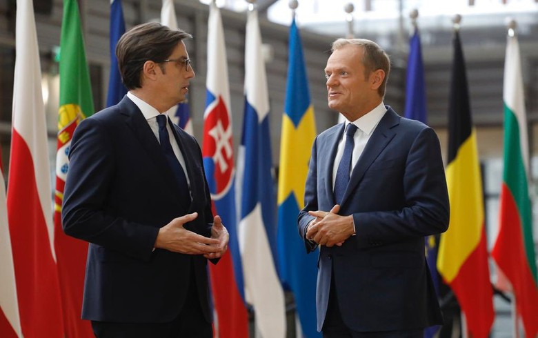 Final decision to open EU accession talks with N. Macedonia, Albania takes time - Tusk