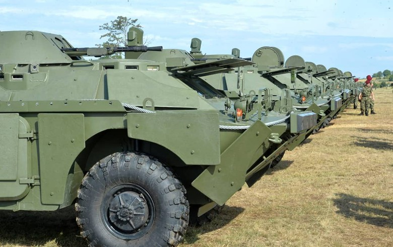 Russia completes delivery of 10 BRDM-2 combat vehicles to Serbia - Vucic