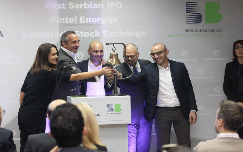 Fintel Energija starts trading on Belgrade bourse