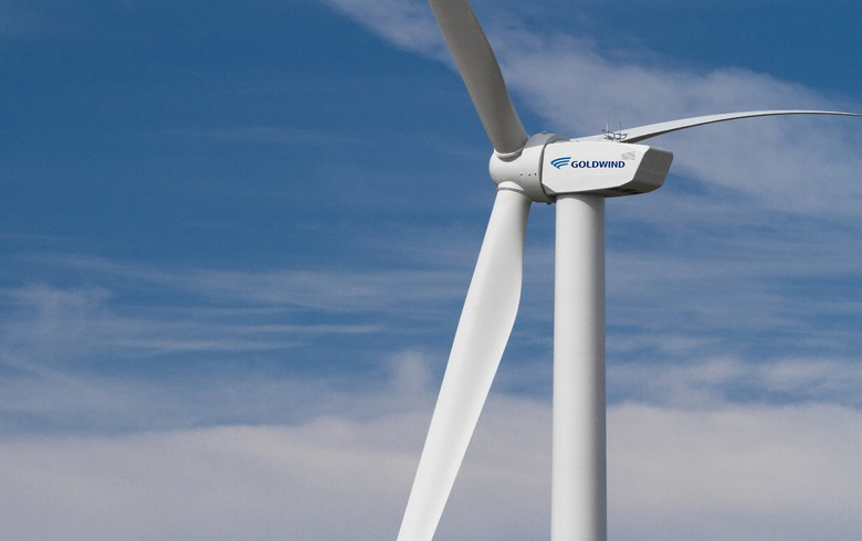 Goldwind gets firm deal to equip 200-MW Canadian wind park