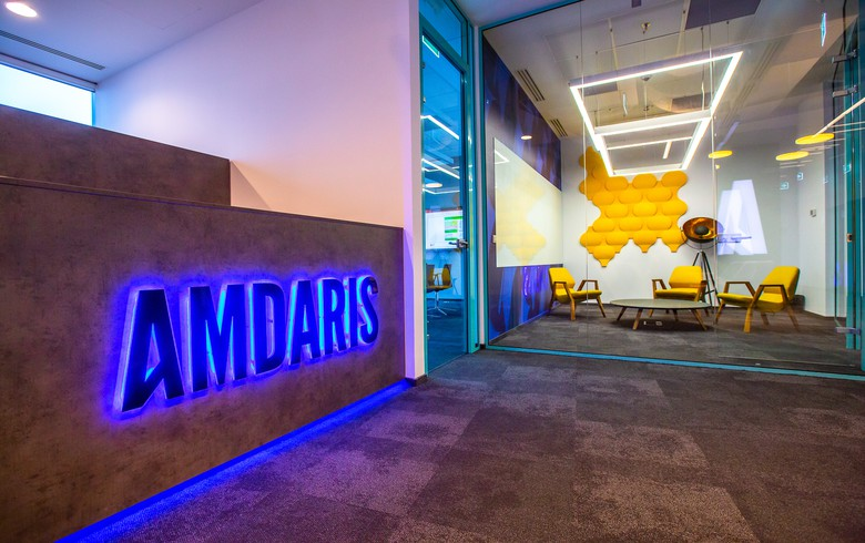 UK software co Amdaris Romanian team moves to new office