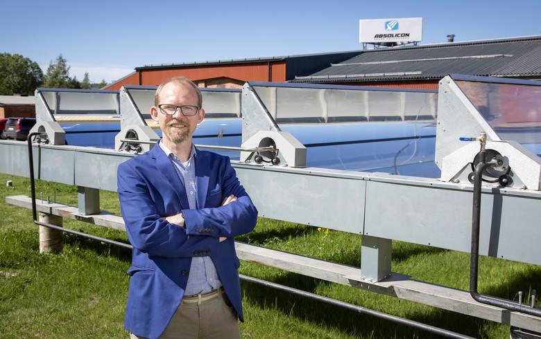 Absolicon, Uniper mull solar collector development partnership