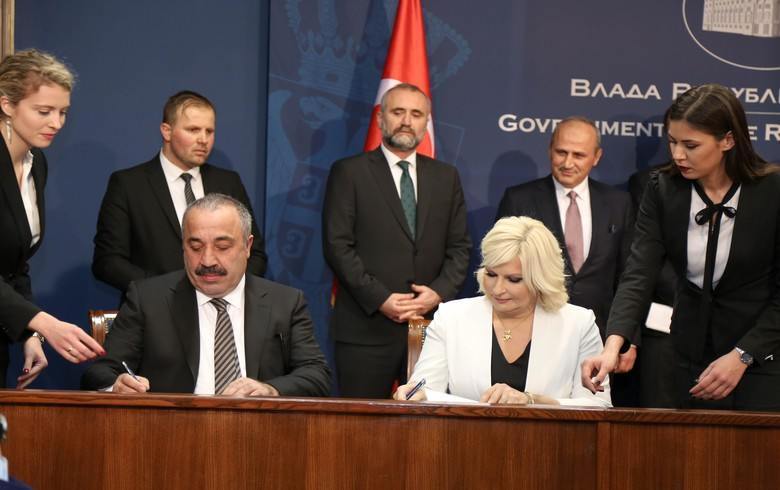 Serbia signs 250 mln euro motorway deal with Turkey's Tasyapi