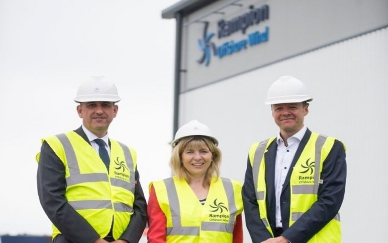 O&M base opened for Rampion offshore wind park