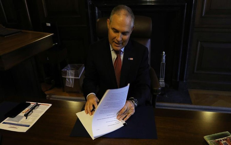 UPDATE - US EPA officially proposes Clean Power Plan repeal