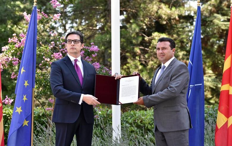 N. Macedonia's president hands Zaev mandate to form new govt