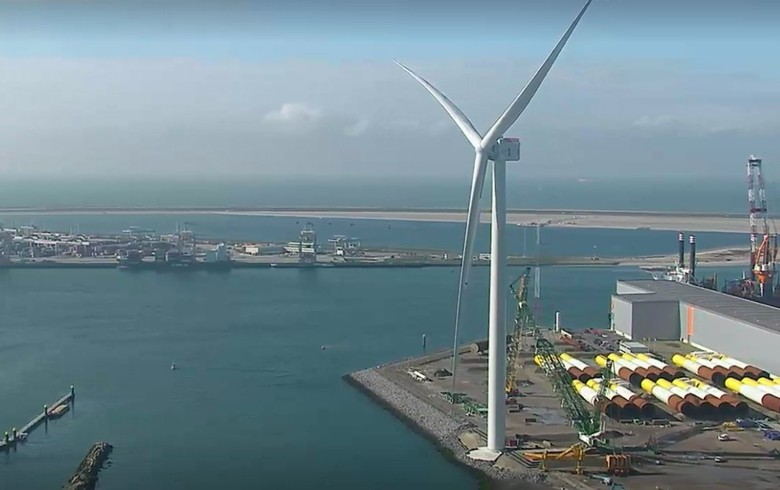 GE's 12-MW turbine generates 1st power in Rotterdam