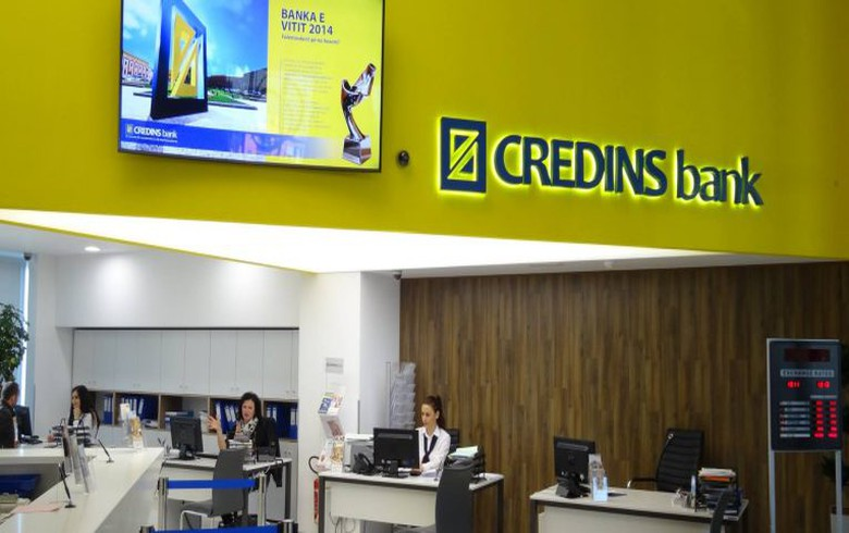 Kosovo c-bank approves licensing of local unit of Albania's Credins Bank