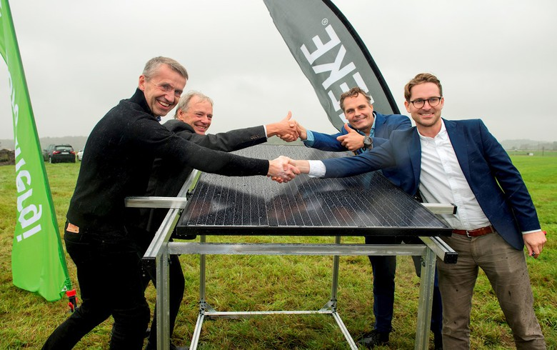 Work starts on Sweden's largest solar park