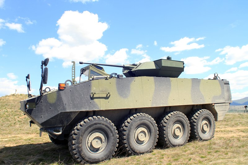 Romania signs $1 bln armored vehicles deal with General Dynamics European unit