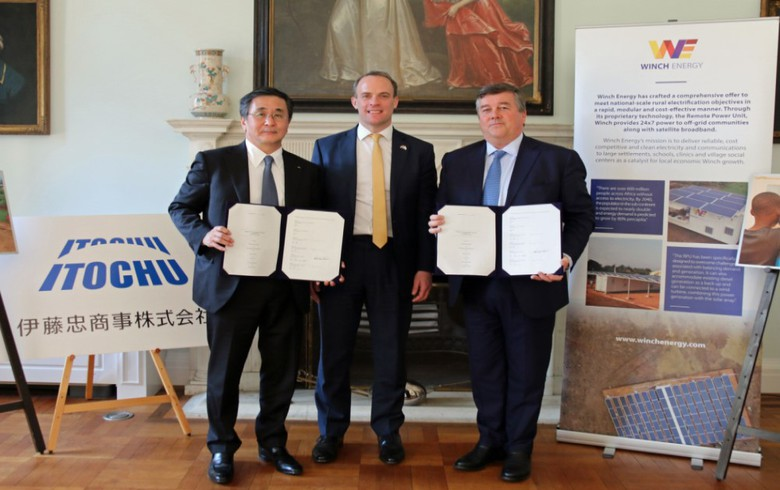 Japan's Itochu invests in UK Winch Energy