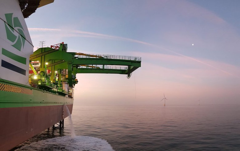 GeoSea picked as turbine installer for 860-MW Triton Knoll