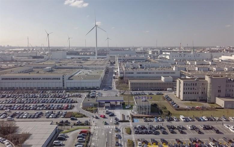 Volvo factory in Belgium goes solar