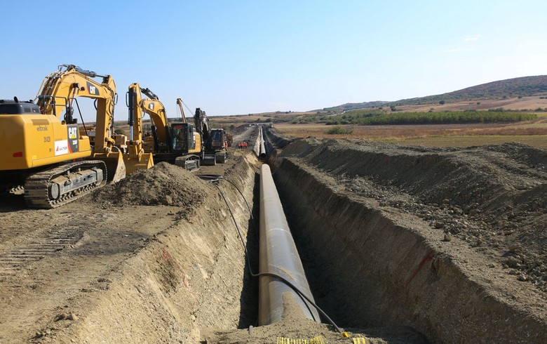 TAP says 62% of pipes in Albania, Greece laid in ground