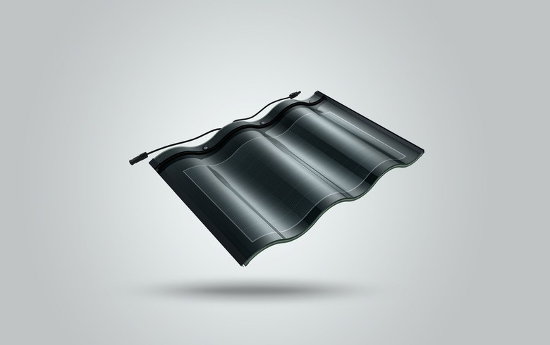 China's Hanergy introduces solar roof tile