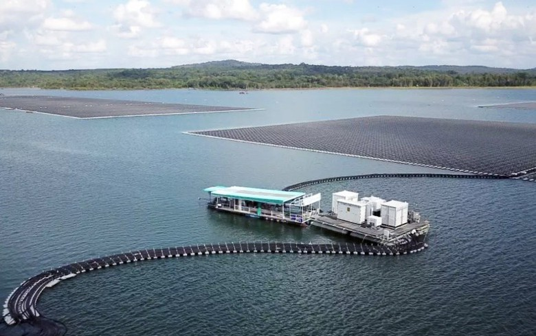 Thailand's 58.5-MW floating solar plant connected to grid