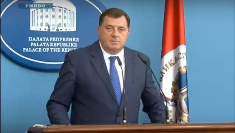 U.S. imposes sanctions on Bosnia's Serb Republic president
