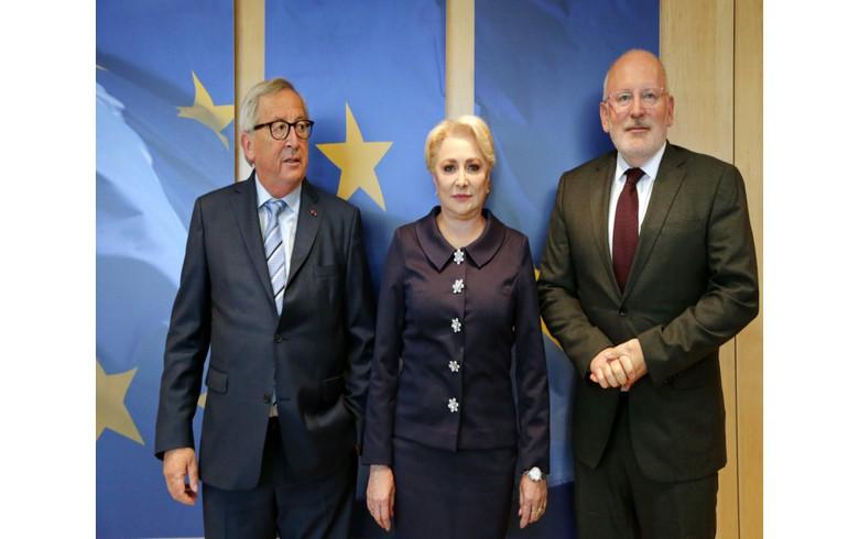 EU praises Romania's pledge to ditch controversial judicial reforms