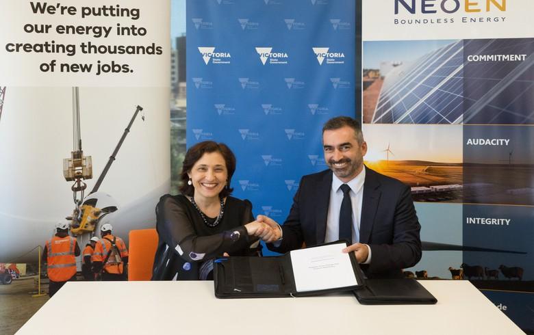 Neoen inks support agreement for Aussie wind/storage project