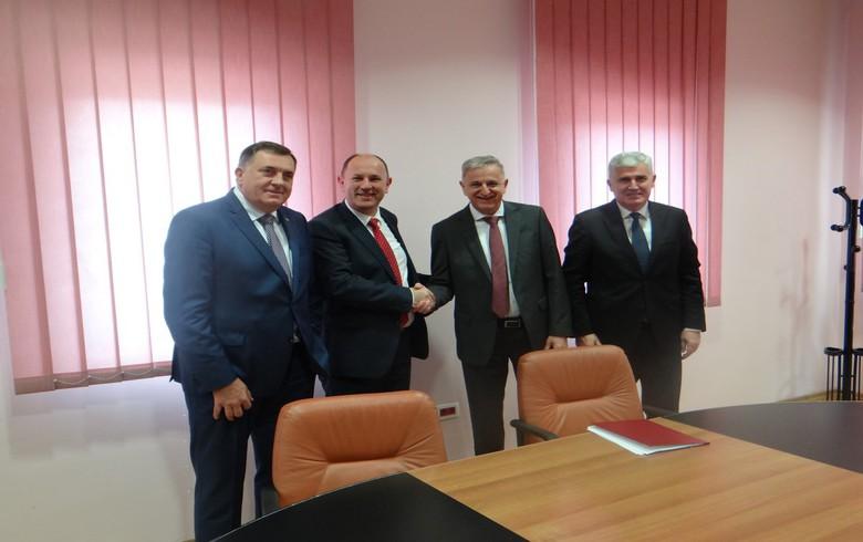 Bosnia's Elektroprivreda RS, HZHB sign 51 mln euro power production deal