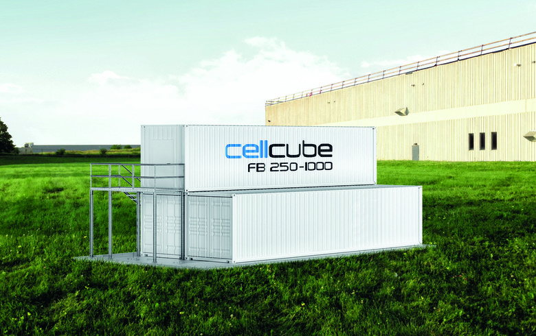 CellCube unveils 100-MW energy storage partnership in US