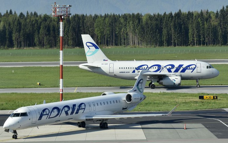Slovenian court launches bankruptcy proceedings against Adria Airways