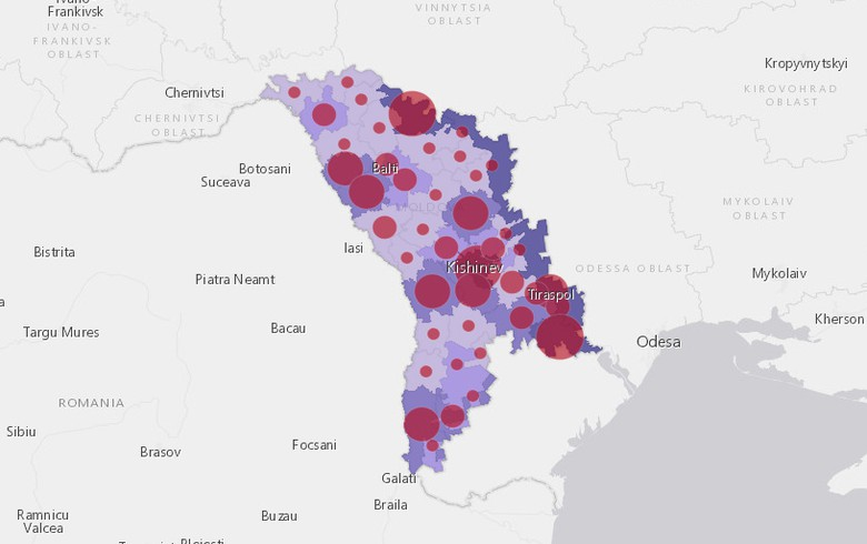 摩尔多瓦帕尔施加了2个月的紧急状态,CITES在Covid-19案件中飙升